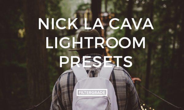 Nick La Cava Lightroom Presets