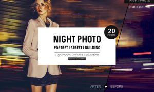 Night Photo Lightroom Presets QJZFUM