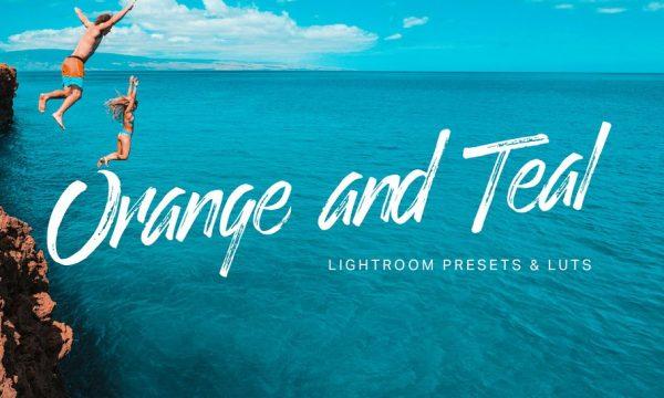 Orange Teal Lightroom Presets + LUTs 2122310