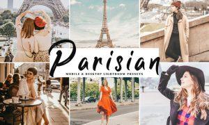 Parisian Mobile & Desktop Lightroom Presets