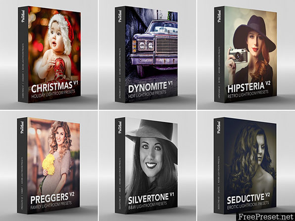 Presetual - Adobe Lightroom Preset Library