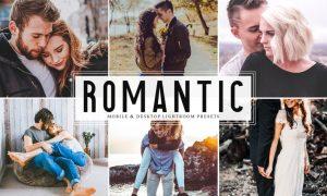 Romantic Mobile & Desktop Lightroom Presets