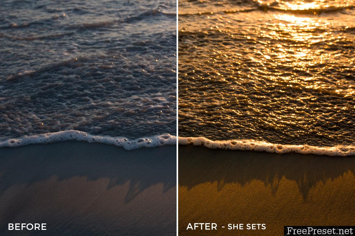 Sand & Waves Lightroom Presets