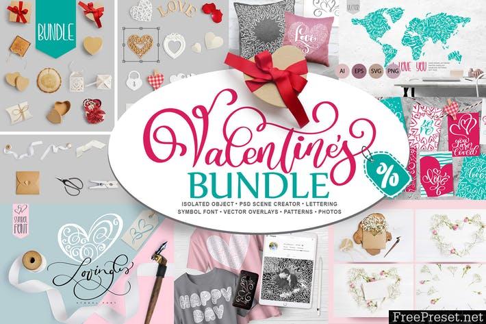Valentine Bundle FJ7S49 - AI, EPS, SVG, PNG