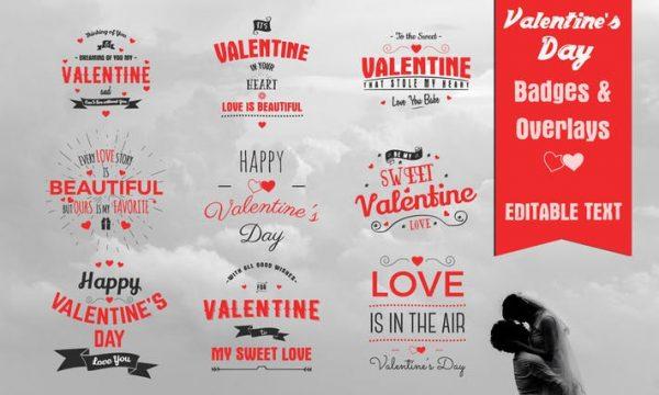 Valentine's Day Badges & Overlays RTMLWG
