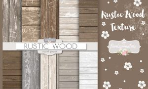 Wood rustic digital paper LNVNDV - JPG