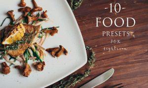 10 Food presets for lightroom 1169116