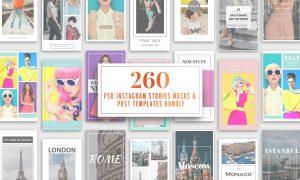 260 Instagram Stories & Templates 2502407