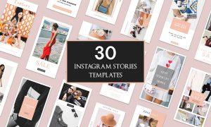 30 Instagram Stories Templates 3027819