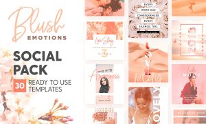 30 Photoshop Templates for Lovely Instagram Stories 2849668