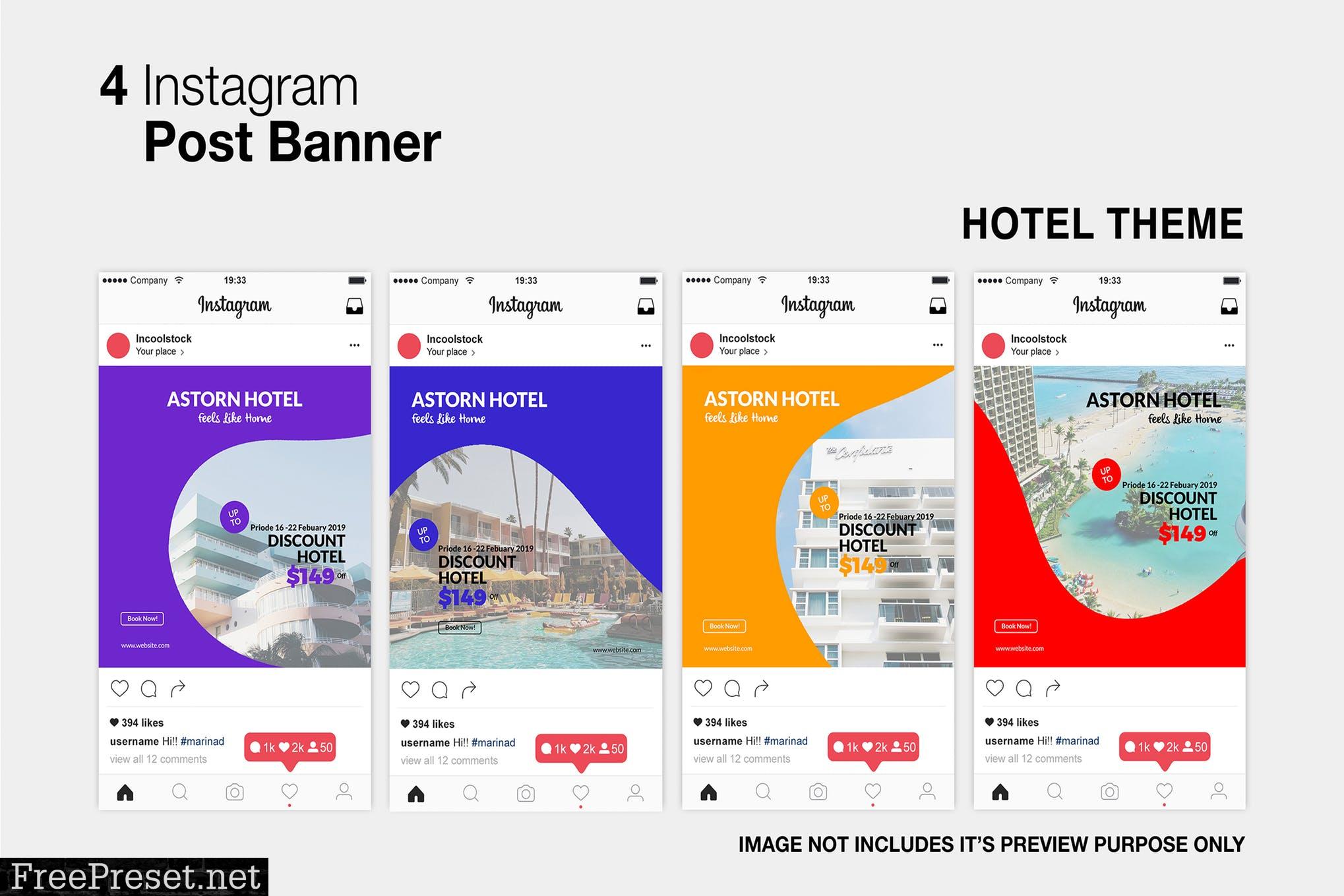 Hotel Instagram Post H2LM7N