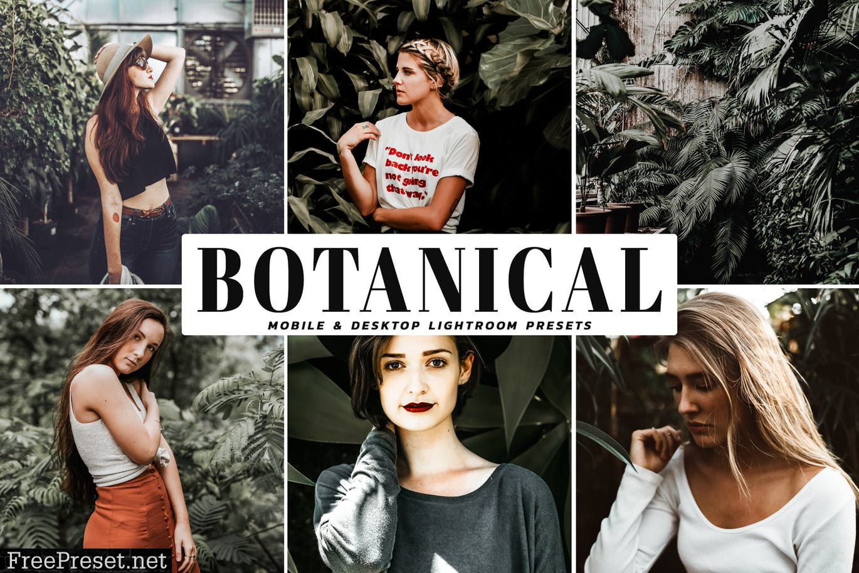 Botanical Mobile & Desktop Lightroom Presets