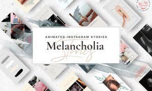 Animated Instagram Stories - Melancholia 2834000
