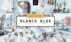 Blanco Blue Lightroom Preset 3979343