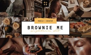 Brownie Me! Luxury Lightroom Preset 3957829