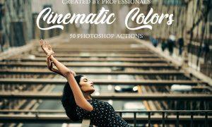 Cinematic Colors Photoshop Actions 3601006