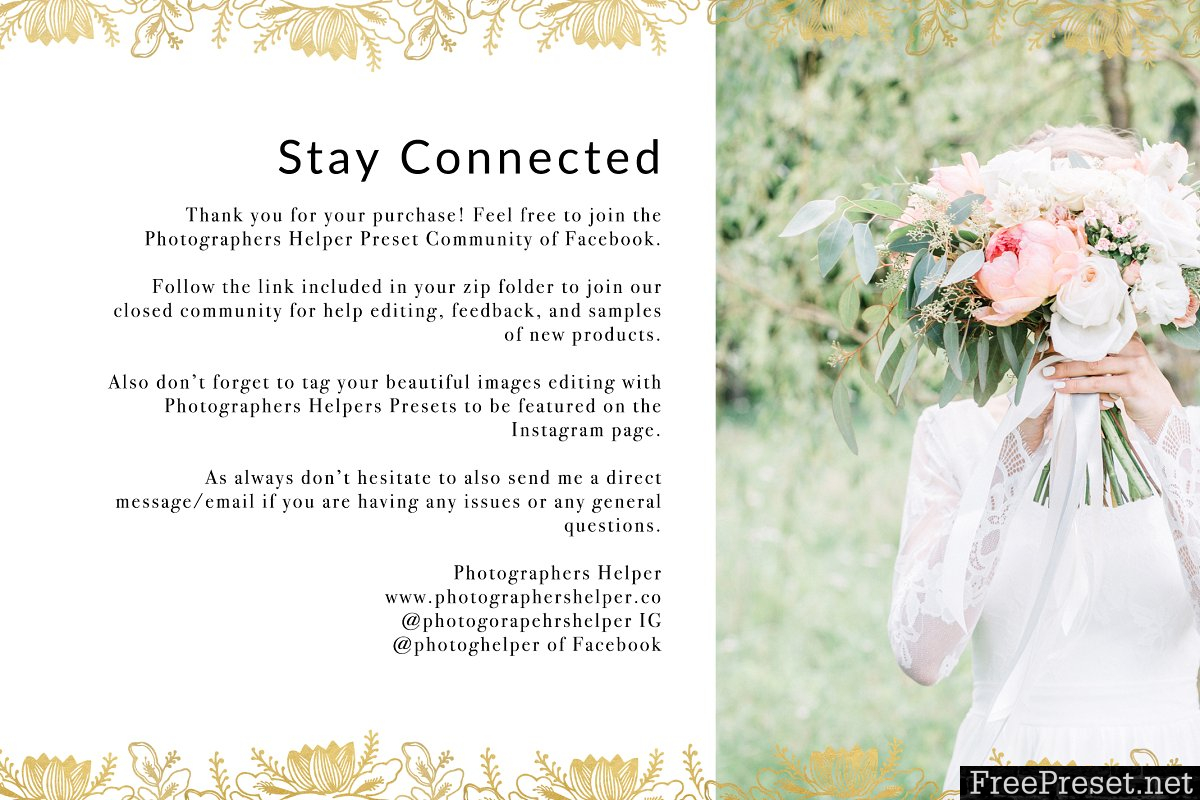Clear Film Wedding Presets 1299962