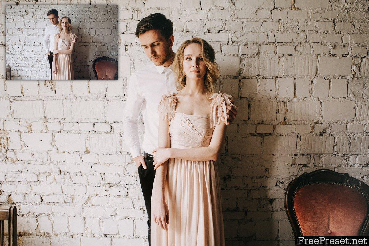 Gold Film Toned Wedding Presets 1310385