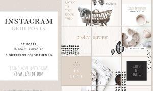 Instagram Grid Posts - Creator 2878618