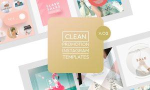 Instagram Promotion Templates v.02 3781807