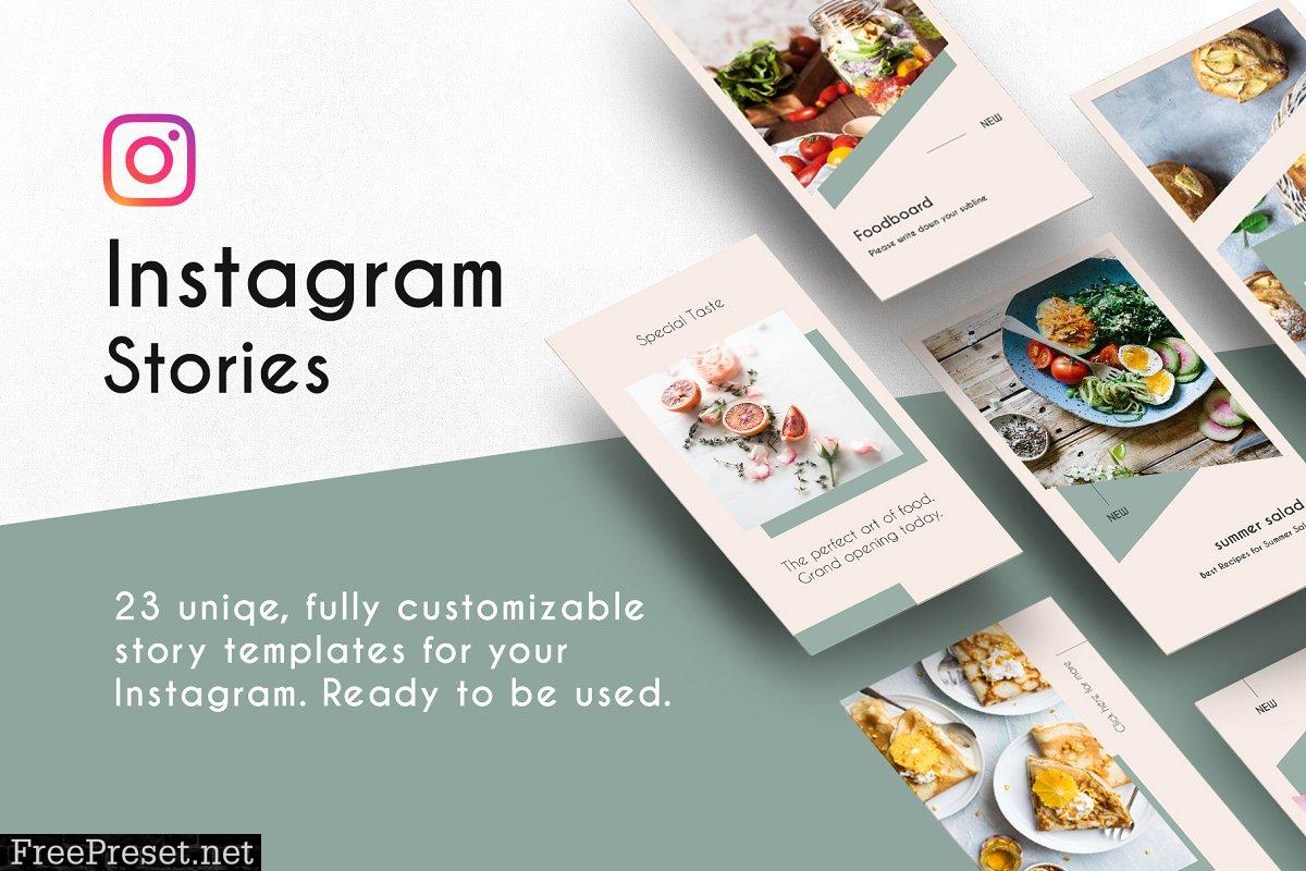 Instagram Stories Template Light 2395938