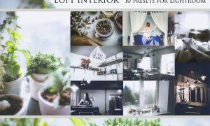 Loft Interior-set of presets for Lr 1200206