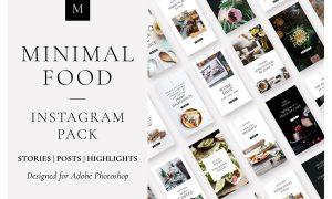 Minimal Food Instagram Pack 3668803
