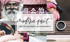 Modern Quiet Lightroom Preset 1179841