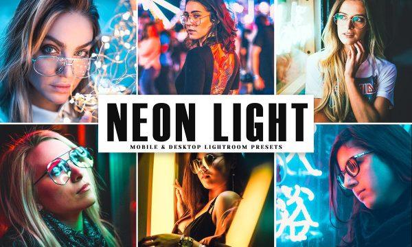 Neon Light Pro Lightroom Presets 4041707