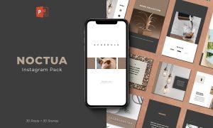 Noctua PowerPoint Instagram Pack 3905451