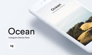Ocean Instagram Stories Pack 2456929