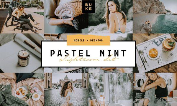 Pastel Mint 4 Lightroom Preset Pack 3957670