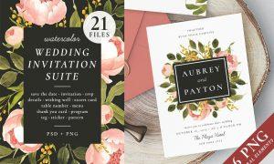 Peonies – wedding set 2334199