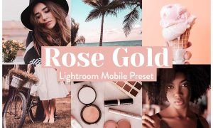 Rose Gold Lightroom Presets Mobile 3972243