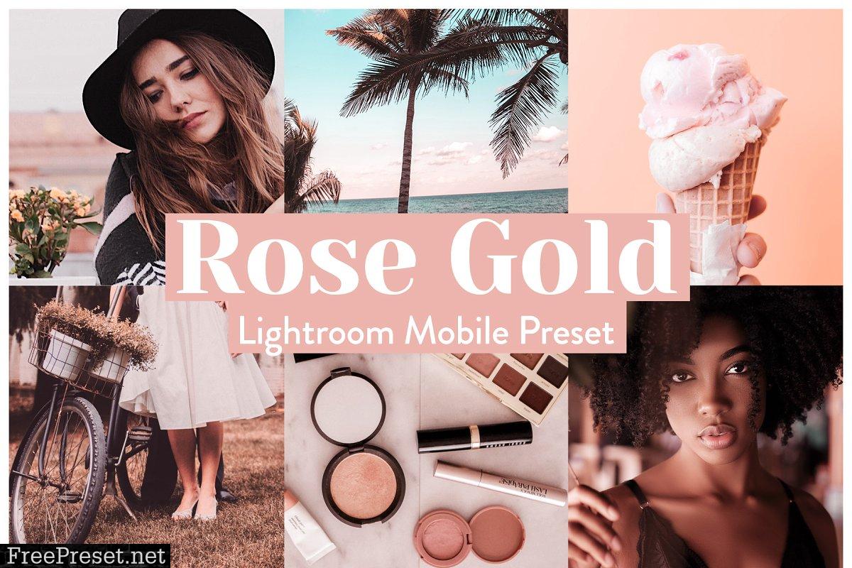 Rose Gold Lightroom Presets Mobile 3972243