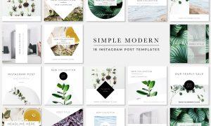 Simple Modern Instagram Pack 2171925