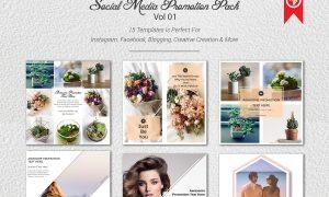 Social Media Promotion Pack 1737405