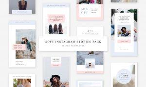 Soft Instagram Stories Pack 1793623
