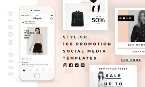 Stylish - 100 Social Media Templates 2598681