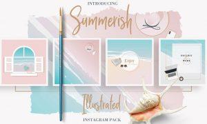 Summerish Illustrated Instagram Pack 2541686
