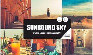 Sunbound Sky Lightroom Preset 3874202