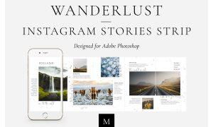Wanderlust Instagram Stories Strip 3650587