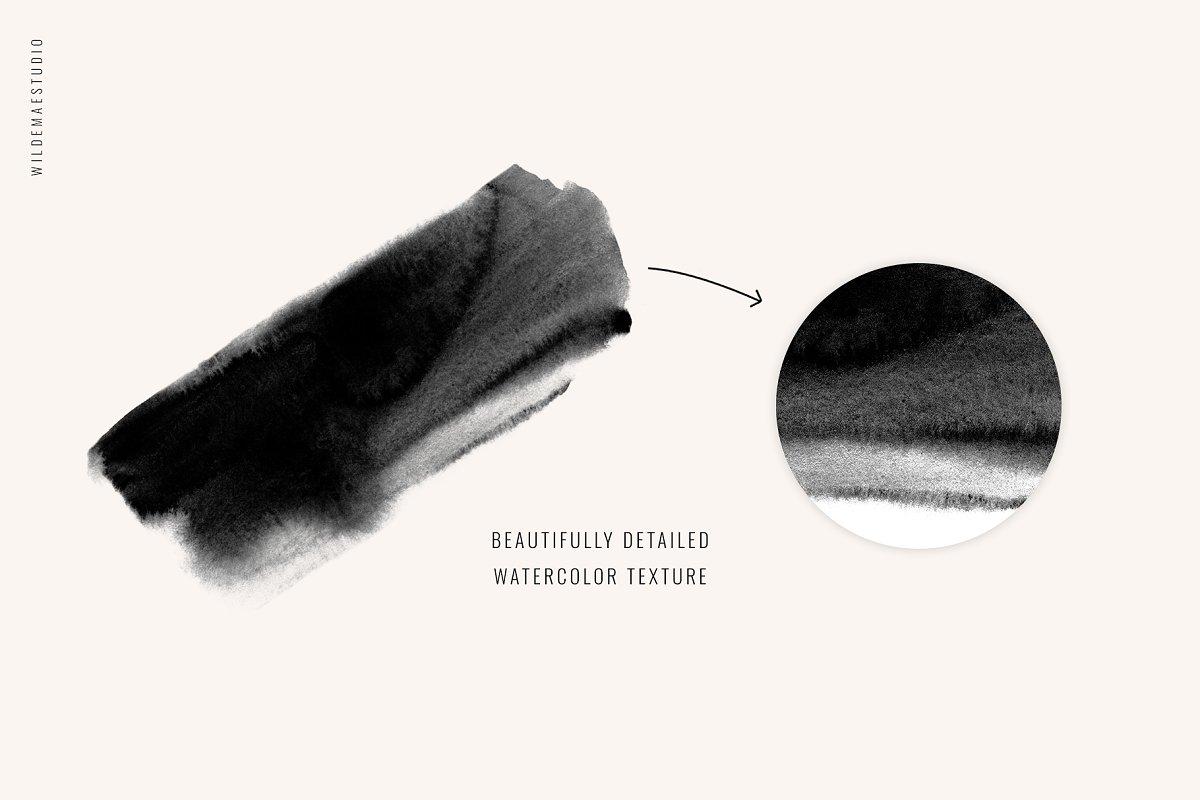 Watercolor Brush Strokes Vol. I 3737020