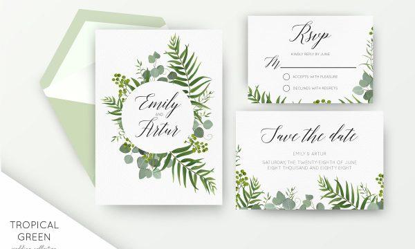 Wedding collection - Tropical green 2418366