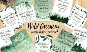 Wild Greenery Wedding Collection 687738