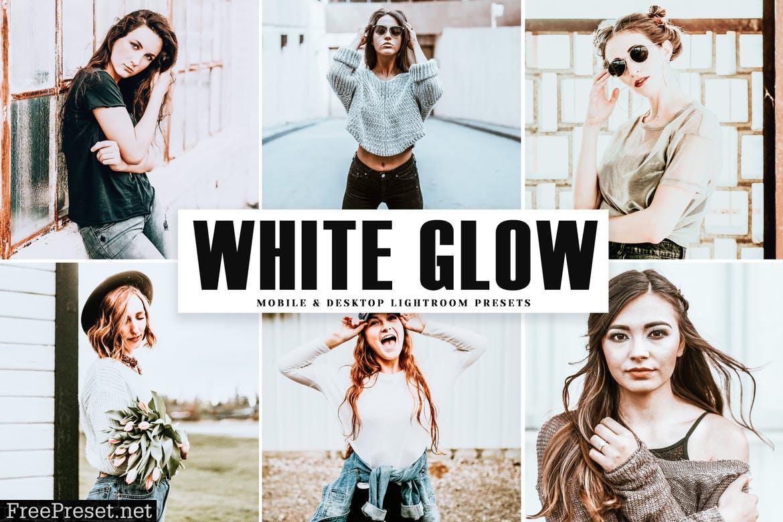 White Glow Mobile & Desktop Lightroom Presets
