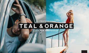 20 Professional Teal & Orange LUTS 4061026
