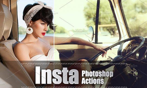 30 Insta Photoshop Actions 3937770