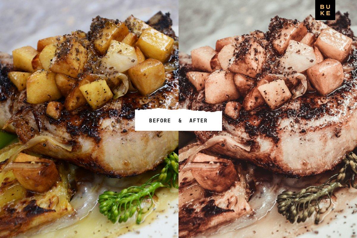 4 Food Lightroom Presets Pack 4054641