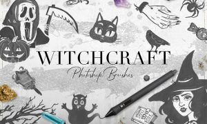 75 Witchcraft Photoshop Brushes 1764668